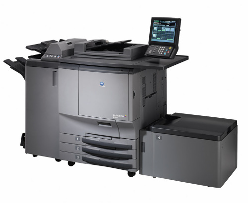 Konica ColorFORCE(TM) 8050 Imaging System. Designed for cost-effective color and B&W on demand printing for the CRD CRD. Service Business Equipment can service, rent or repair this copier and many other copiers, copy machines, printers and scanners .
