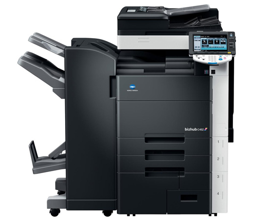 The bizhub C452 is a professional quality color printer copier that will revolutionize your workflow. You can count on Konica Minolta to help you print, copy, scan and fax at speeds up to 45 ppm in B&W and 45 ppm in color. Seattle to Tacoma.